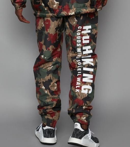 2e088623830 ADIDAS Originals Pharrell Williams HU CAMO Pants